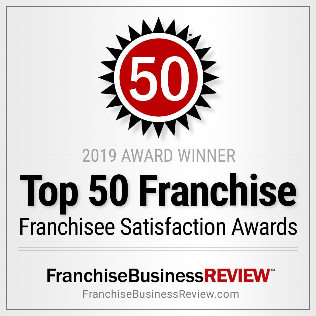 franchise business review top 50 2019