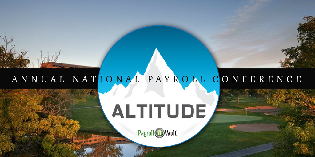 payroll vault 6th annual national conference