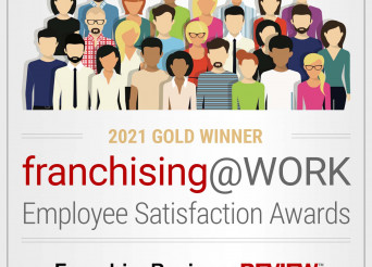 Payroll Vault Named a 2021 Franchising@WORK GoldAward Winner by Franchise Business Review