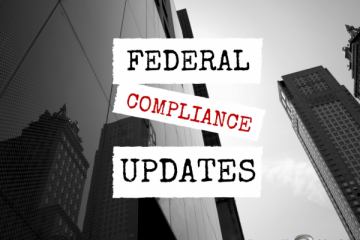 Recent Federal Law Updates