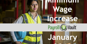Minimum Wage Increase January 2018
