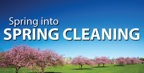 Spring into Spring Cleaning