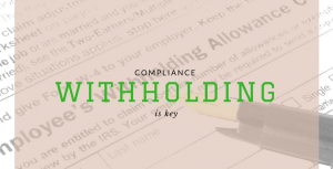 Withholding Сompliance